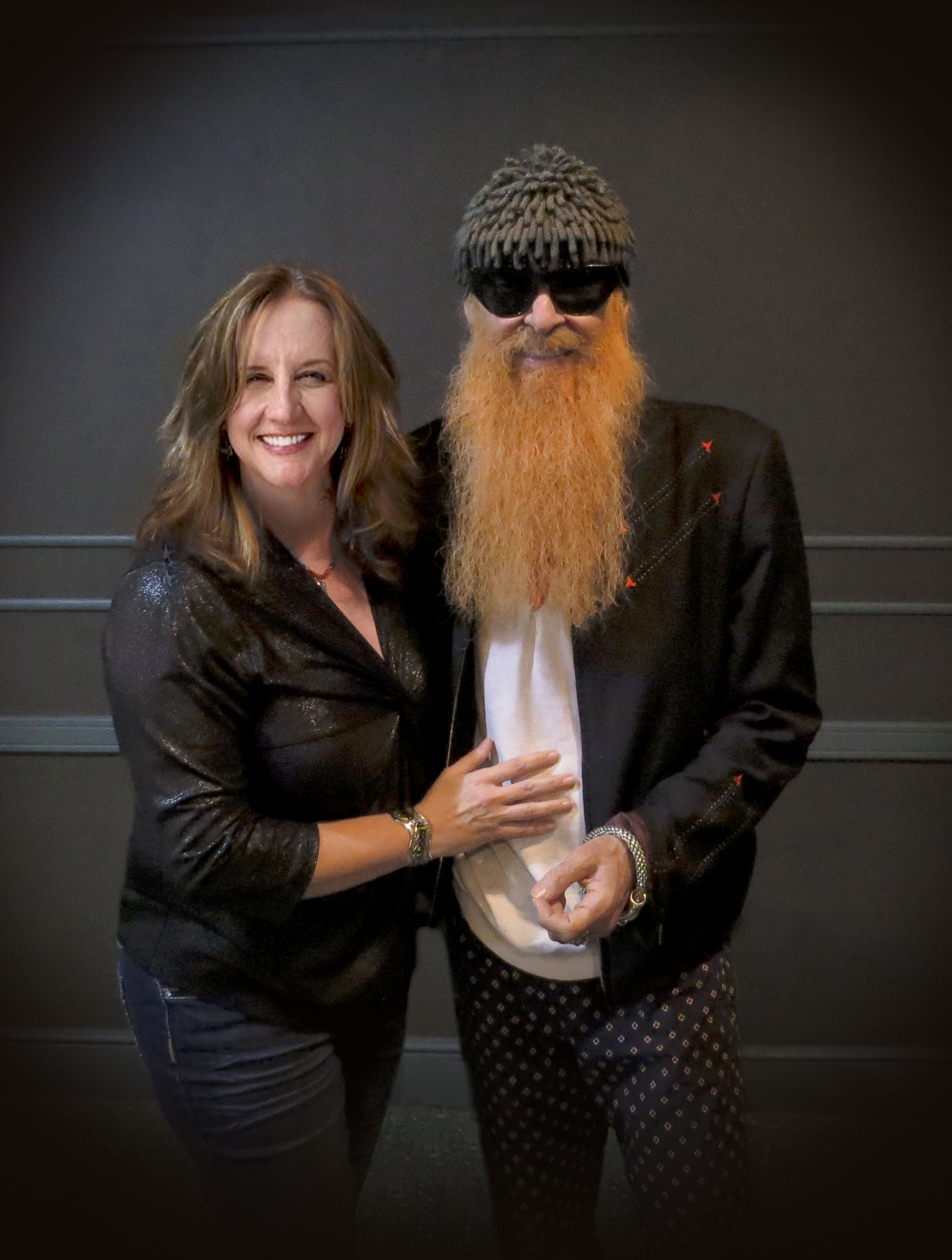 "Kristen Hart & Billy Gibbons ""The Rev"""
